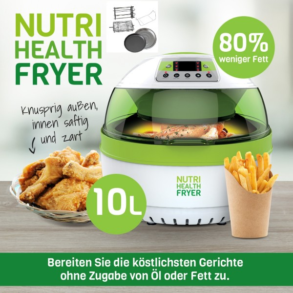 Nutri Health Fryer 10 L