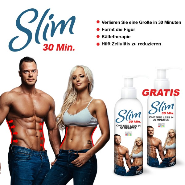 Slim Schlankheits-Gel 30Min. 1+1 GRATIS