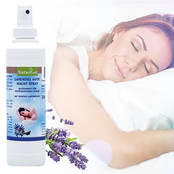 Lavendel Gute Nacht-Spray, 250ml