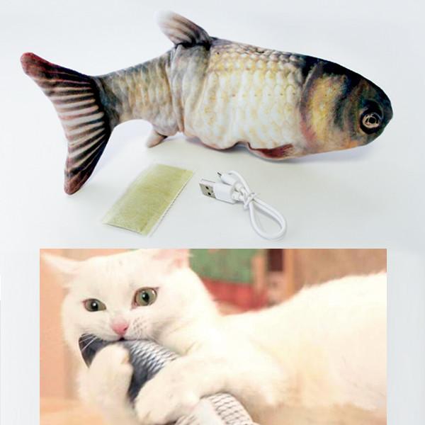 Katzenspielzeug Magic Fish