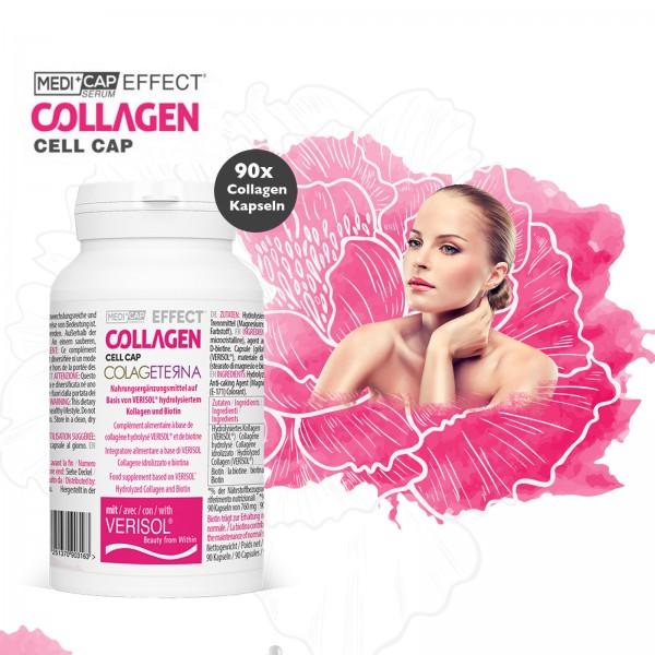 MediCap Effect Collagen Cell Cap - 90 Kapseln - für 3 Wochen
